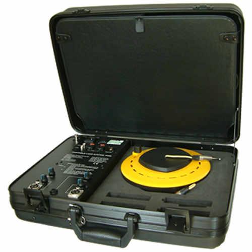 Portable induction loop and loop drum