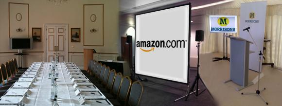 Equipment hire for presentations
