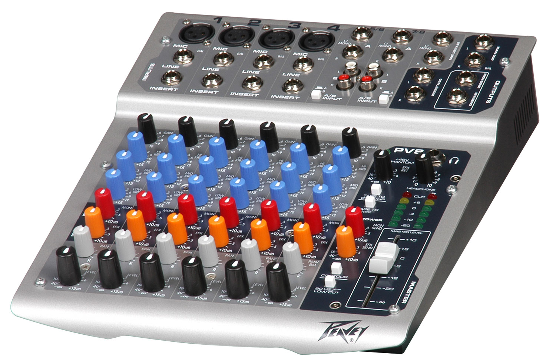 PV8 8Channel live mixer edinburgh