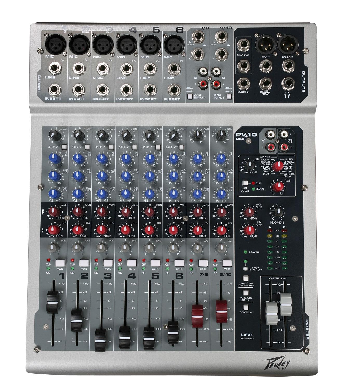 PV10 10Channel live mixer edinburgh