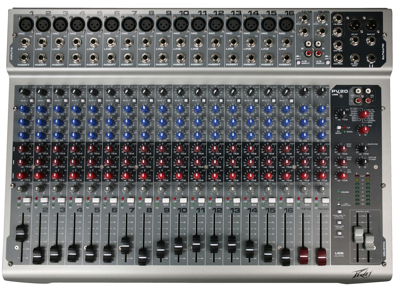 PV20 20Channel Live mixer edinburgh