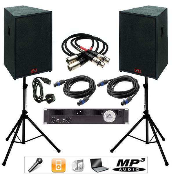 1000w 1k DJ Sound System edinburgh