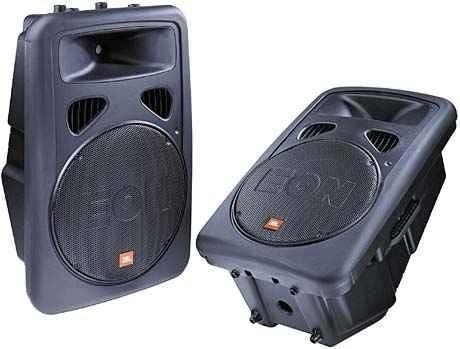 300w 12″ Powered DJ monitor speaker edinburgh