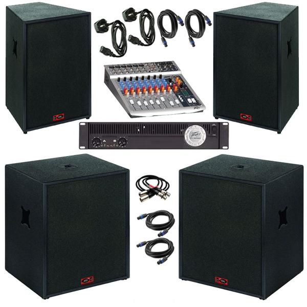 2000w 2k Live PA edinburgh