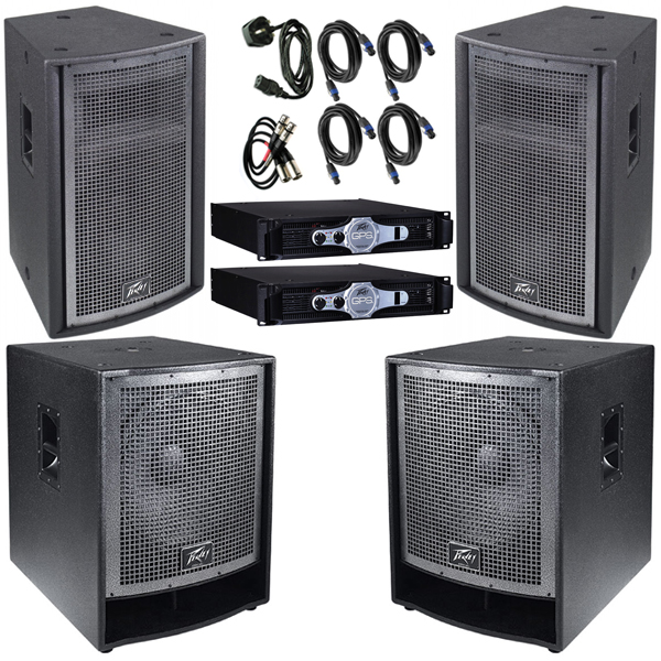 6000w 6k DJ System edinburgh