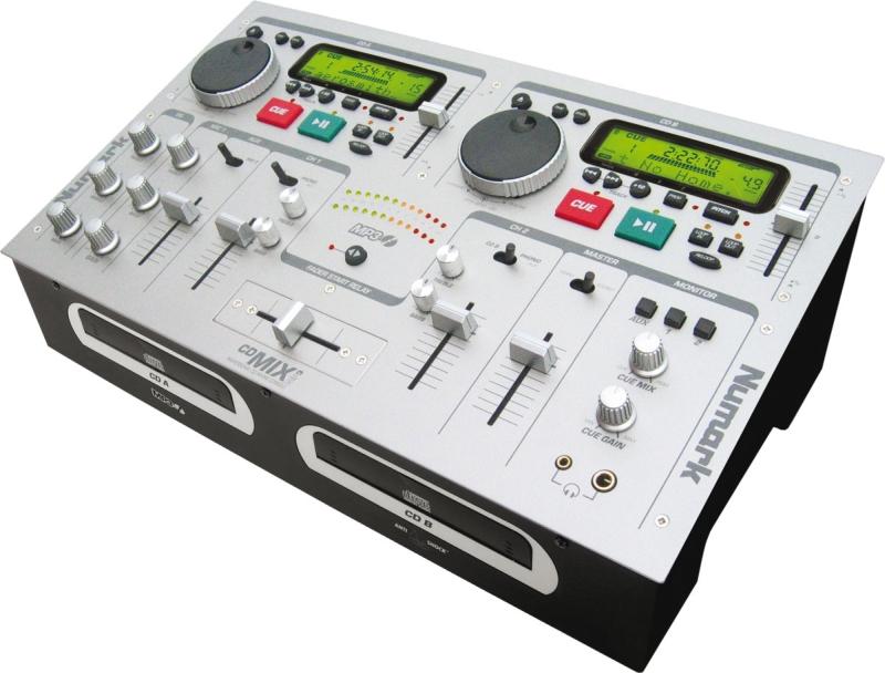 Dual CD player + Mixer edinburgh