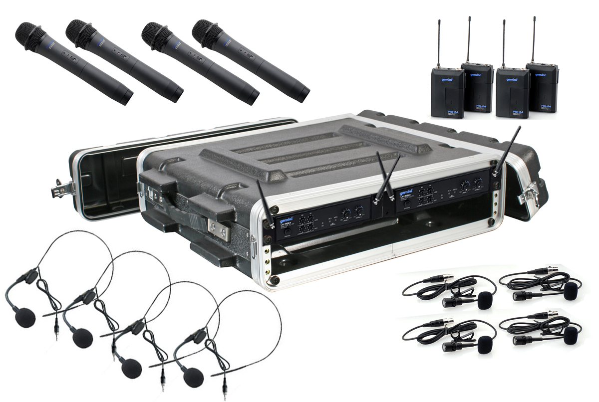 4ch Radio mic System (hand/lapel/head) edinburgh