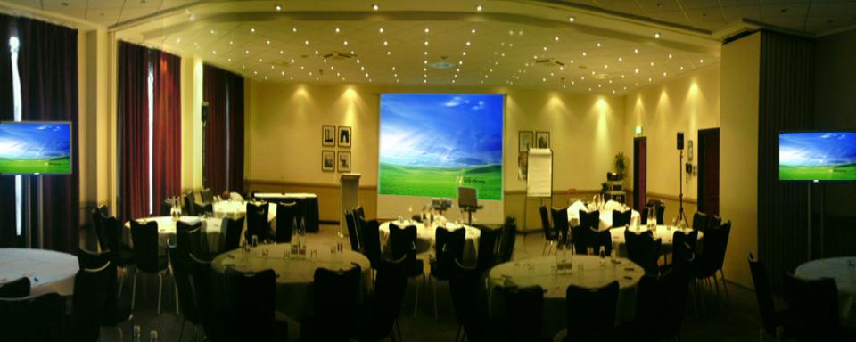 conference AV PA setup